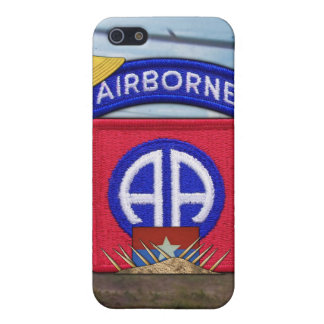 82nd airborne division patches nam  iPhone 5 case