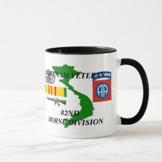 82nd Airborne Division Vietnam Veteran Coffee Mugs