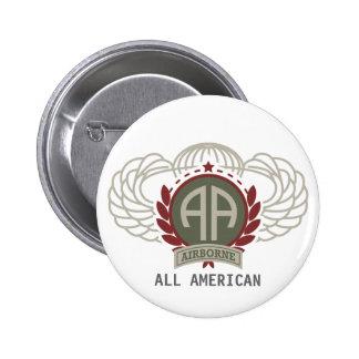 82nd Airborne Division Vintage 2 Inch Round Button
