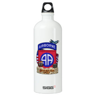 82nd airborne division war veterans vets water Bot Water Bottle