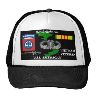 "82ND Airborne Divison ""All American"" Ball Caps Trucker Hat"