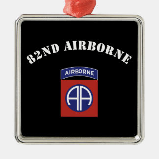 82nd Airborne Insignia Metal Ornament
