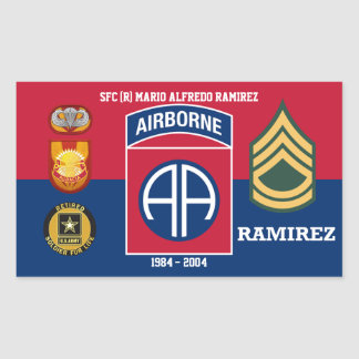 82ND AIRBORNE SOLDIER FOR LIFE STICKER