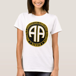 82nd All American Airborne Ranger Casual Patch T-Shirt