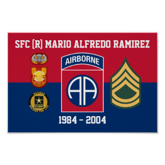 82ND SOLDIER FOR LIFE POSTER