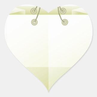 82Paper Shopping Bag_rasterized Heart Sticker