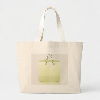 82Paper Shopping Bag_rasterized Large Tote Bag