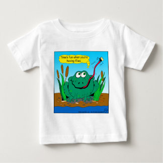 833 time flies cartoon baby T-Shirt