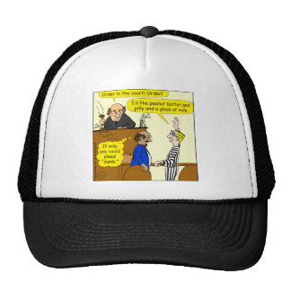 835 order cartoon trucker hat