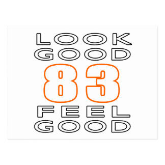 83 Look Good Feel Good Postcard