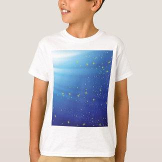 83Blue Background _rasterized T-Shirt