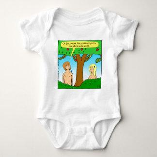 841 youre the prettiest cartoon baby bodysuit