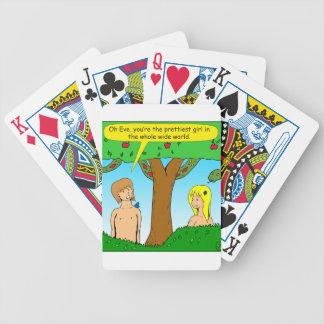 841 youre the prettiest cartoon poker deck