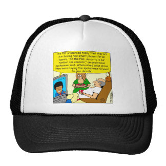 842 new smart phones cartoon trucker hat