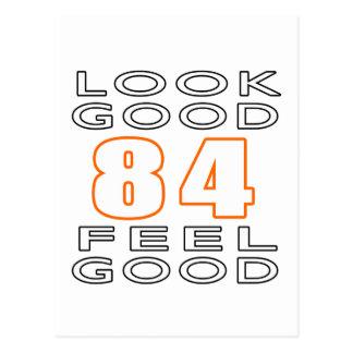 84 Look Good Feel Good Postcard