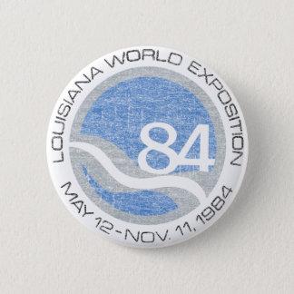 84 Worlds Fair 2 Inch Round Button