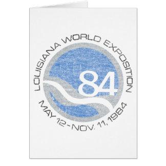 84 Worlds Fair Card