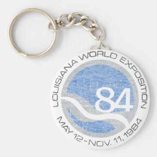 84 Worlds Fair Keychain