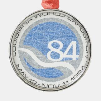84 Worlds Fair Metal Ornament