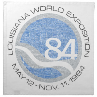 84 Worlds Fair Napkin