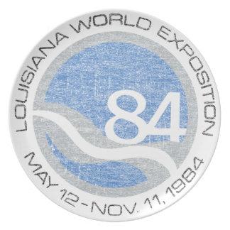 84 Worlds Fair Plate