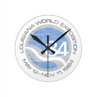 84 Worlds Fair Round Clock