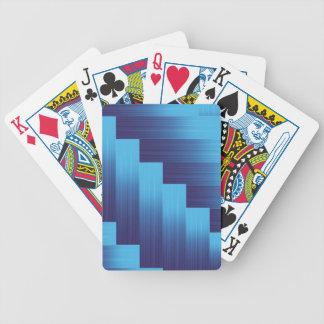 84Metallic Background _rasterized Bicycle Playing Cards
