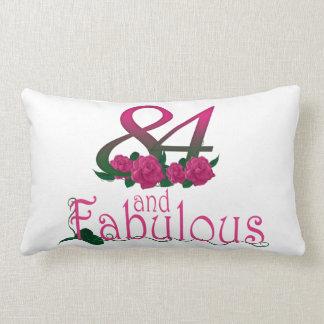 "84th birthday Lumbar Pillow 13"" x 21"""