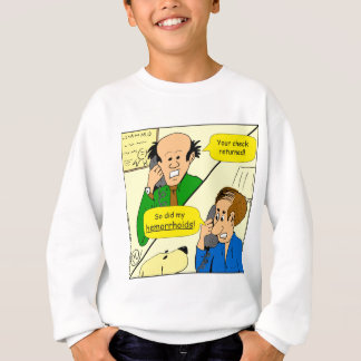 851 check came back cartoon sweatshirt