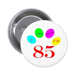 85 Balloons 2 Inch Round Button