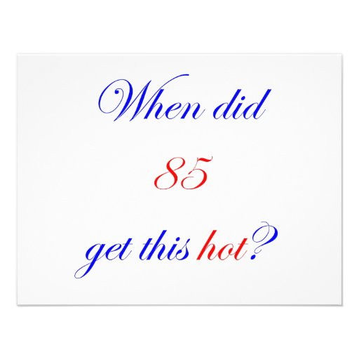 85  Hot Personalized Announcements