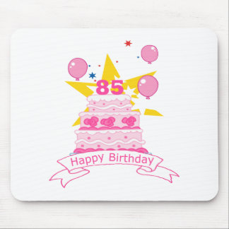 85 Year Old Birthday Cake Mouse Pad
