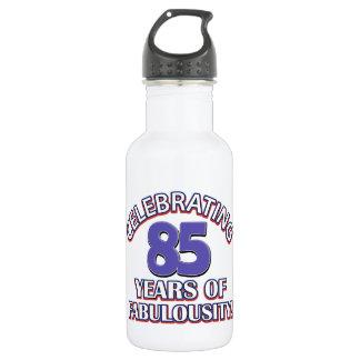 85 years design 18oz water bottle