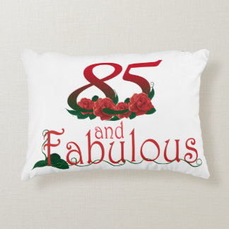 "85th birthday Accent Pillow 16"" x 12"""