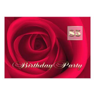 85th Birthday Celebration Custom Invitations Personalized Invites