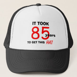 85th Birthday Gag Gifts Hat for Men