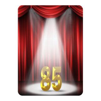 "85th Birthday Party 4.5"" X 6.25"" Invitation Card"