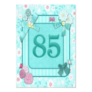 85th birthday party invitation