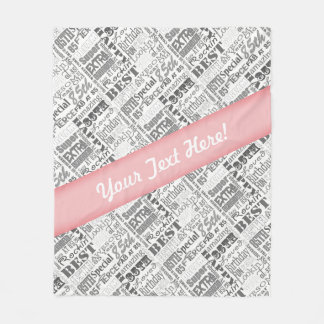 85th Birthday Party Personalized Gifts Fleece Blanket