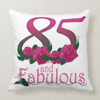 "85th birthday Throw Pillow 20"" x 20"""