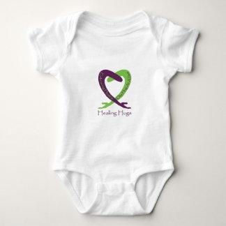 8621_Healing_Hugs_logo_8.31.11_test-2 Baby Bodysuit