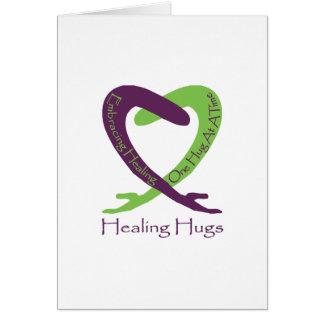8621_Healing_Hugs_logo_8.31.11_test-2 Greeting Card