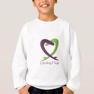 8621_Healing_Hugs_logo_8.31.11_test-2 Sweatshirt