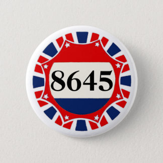 8645 -- Anti-Trump 2 Inch Round Button
