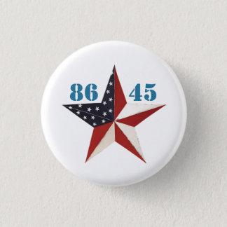 8645: Dump Trump 1 Inch Round Button