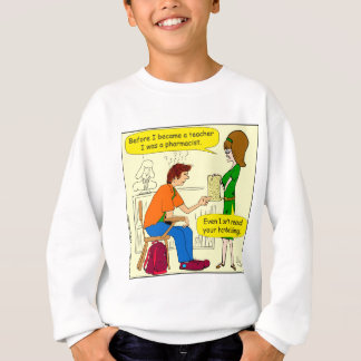 866 handwriting cartoon sweatshirt
