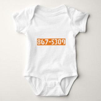 867-5309 BABY BODYSUIT