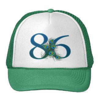 86 / 86th birthday number trucker hat