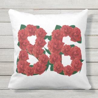 "86 Outdoor Throw Pillow 20"" x 20"""