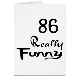 86 Really Funny Birthday Designs Card